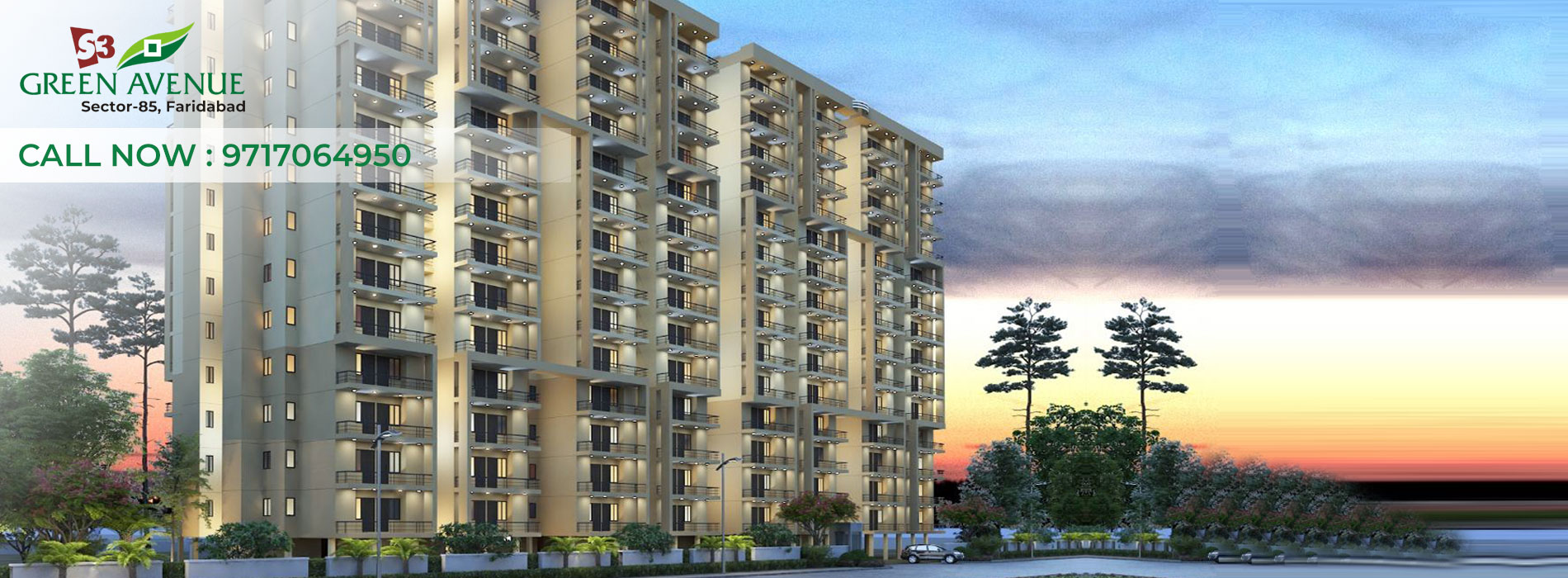 Green Avenue residences sec 85 faridabad